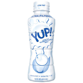 YUP!® Low Fat Ultra-Filtered Milk 14 fl. oz. Bottle