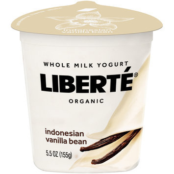 Liberté® Indonesian Vanilla Bean Organic Whole Milk Yogurt