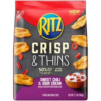 Nabisco Ritz Sweet Chili & Sour Cream Crisp & Thins