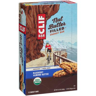 Clif Bar® Nut Butter Filled Blueberry Almond Butter Energy Bar 12–1.76 oz. Box