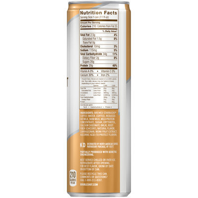 Starbucks® Doubleshot® Caramel Coffee & Protein Beverage 11 fl. oz. Can