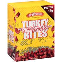 Old Wisconsin® Honey Brown Sugar Turkey Sausage Turkey Bites 2 oz. Pouch