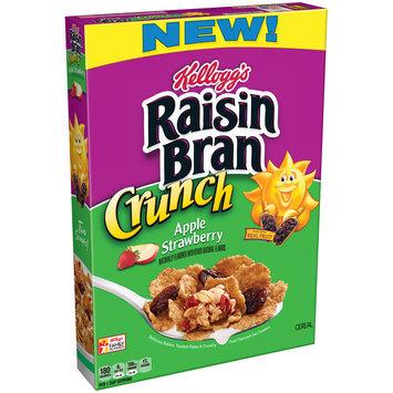 Kellogg's® Raisin Bran Crunch® Apple Strawberry Cereal 14.5 oz. Box
