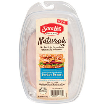 Sara Lee Naturals* Home-Style Oven Roasted Turkey Breast 8 oz. Pack