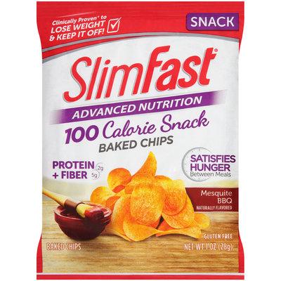 SlimFast Advanced Nutrition Snacks Mesquite BBQ Baked Chips