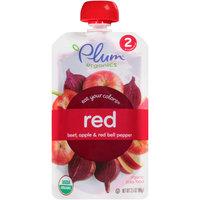 Plum™ Organics Stage 2 Red Organic Baby Food 3.5 oz. Pouch