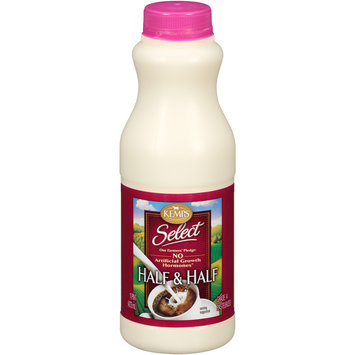 Kemps® Select Half & Half 1 pt. Bottle