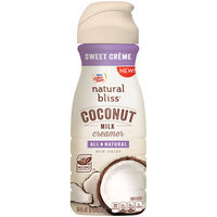 Nestle Coffeemate Natural Bliss Coconut Milk Sweet Creme Coffee Creamer