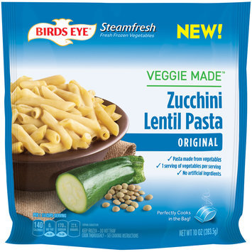 birds eye® steamfresh® veggie made™ original zucchini lentil pasta