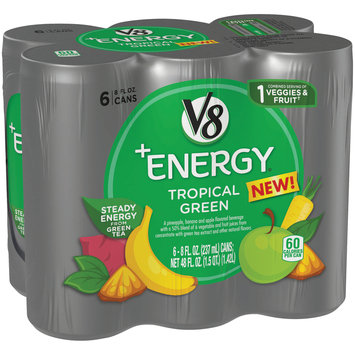 V8® +Energy® Tropical Green Beverage