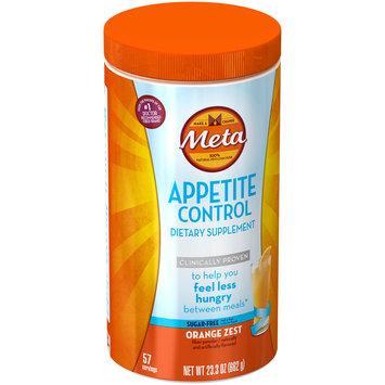Meta Appetite Control Orange Zest Dietary Supplement 23.3 oz. Canister