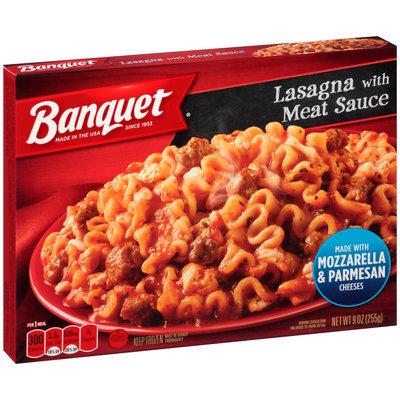 Banquet® Lasagna with Meat Sauce 9 oz. Box