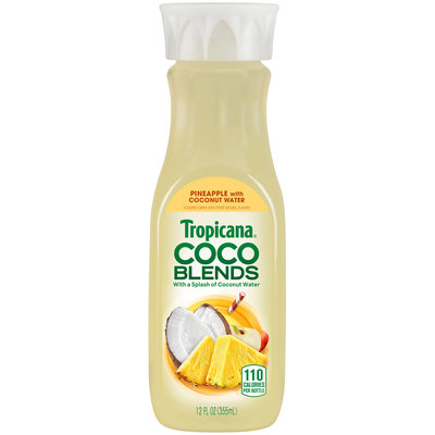 Tropicana® Coco Blends Pineapple with Coconut Water 12 fl. oz. Bottle