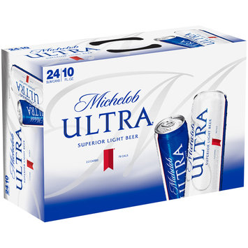 Michelob Ultra® Superior Light Beer 24-10 fl. oz. Cans