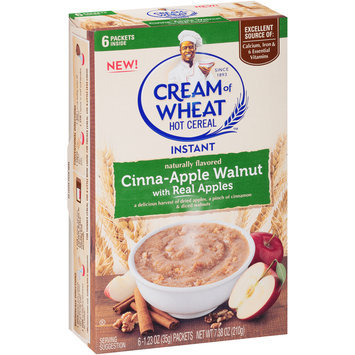 Cream of Wheat™ Cinna-Apple Walnut Instant Hot Cereal 6-1.23 oz. Packets