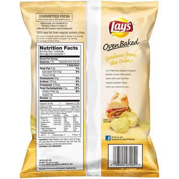 Lay's® Oven Baked Original Potato Crisps 1.34 oz. Bag
