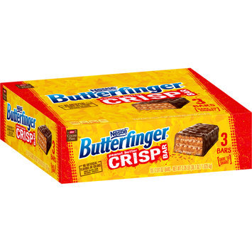 BUTTERFINGER Crisp Candy Bars 2.01 oz. Bars, 18 ct Carton