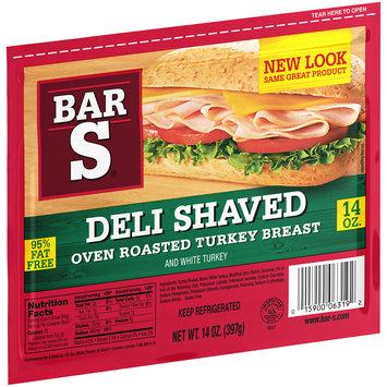 Bar-S® Deli Shaved Oven Roasted Turkey Breast 14 oz. Bag
