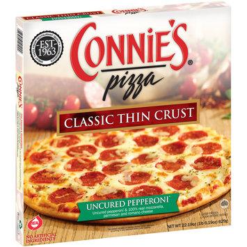 Connie's® Pizza Uncured Pepperoni* Classic Thin Crust Pizza 22.19 oz. Box