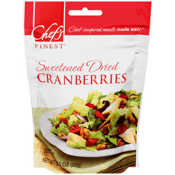 Chef's Finest® Sweetened Dried Cranberries 3.5 oz. Bag