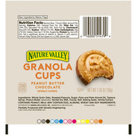 Nature Valley™ Peanut Butter Chocolate Granola Cups 1.35 oz. Wrapper