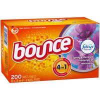 Bounce® with Febreze™ Spring & Renewal® Fabric Softener Sheets 200 ct Box