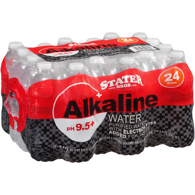 Stater Bros.® Alkaline Water 24-16.9 fl. oz. Bottles