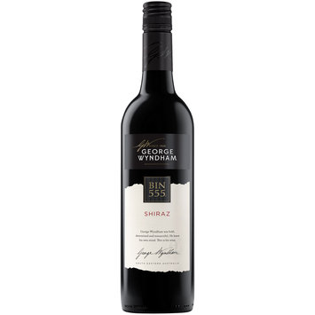 George Wyndham® Bin 555 Shiraz Wine 750mL Bottle