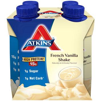 Atkins® French Vanilla Shakes 4-11 fl. oz. Cartons