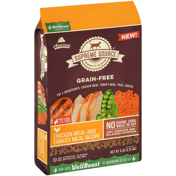 Supreme Source® Grain-Free Chicken Meal and Turkey Meal Recipe Cat Food 6 lb. Bag