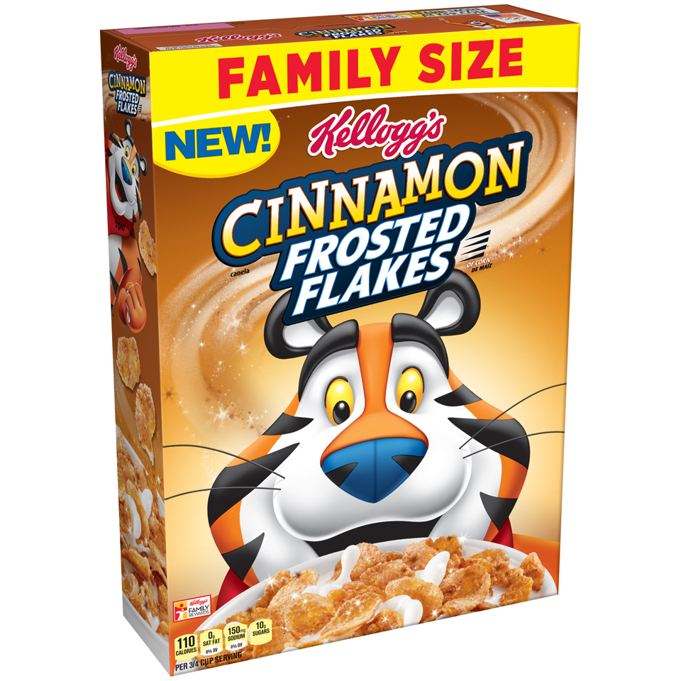 Kellogg's® Cinnamon Frosted Flakes™ of Corn 26.8 oz. Box
