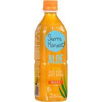 Sierra Harvest® Mango Flavor Natural Aloe Vera Juice Drink 16.9 fl. oz. Bottle