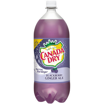 Canada Dry Blackberry Ginger Ale, 2 L Bottle