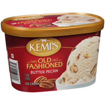 Kemps® Old Fashioned Butter Pecan Ice Cream 1.5 qt. Tub