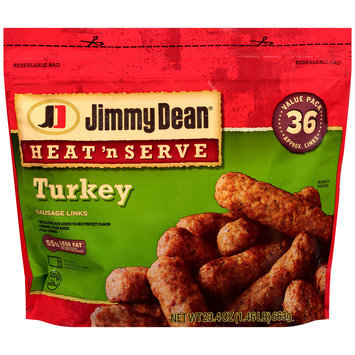 Jimmy Dean® Heat 'n Serve Turkey Sausage Links 23.4 oz. Bag