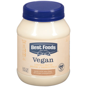 Best Foods® Vegan Dressing & Sandwich Spread 24 fl. oz. Jar