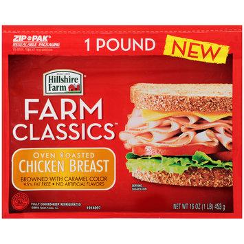 Hillshire Farm® Farm Classics™ Oven Roasted Chicken Breast 16 oz. ZIP-PAK®
