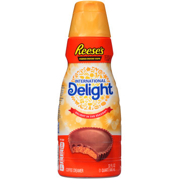 International Delight® Reese's Peanut Butter Cups Coffee Creamer 32 fl. oz. Bottle