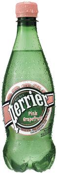 PERRIER Sparkling Natural Mineral Water, Pink Grapefruit 0.5-liter plastic bottle