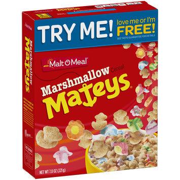 Malt-O-Meal® Marshmallow Mateys® Cereal 7.8 oz. Box