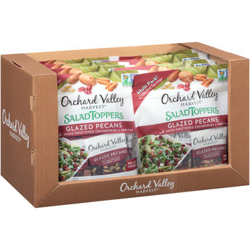 Orchard Valley Harvest® Glazed Pecans Salad Toppers Multi Pack 8-0.85 oz. Bags