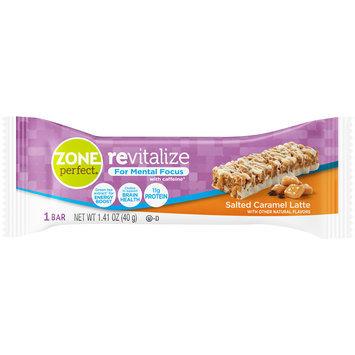 Zone Perfect® Revitalize Salted Caramel Latte Nutrition Bar 1.41 oz. Wrapper