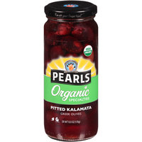 Pearls® Organic Specialties™ Pitted Kalamata Greek Olives 6 oz. Jar