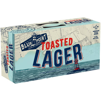 Blue Point Brewing Company® Toasted Lager® Beer  18-12 fl. oz. Cans