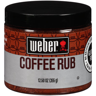 Weber® Coffee Rub Seasoning 12.50 oz. Jar