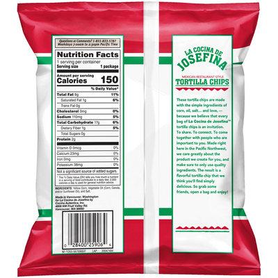 La Cocina de Josefina™ Mexican Restaurant Style Tortilla Chips 1 oz. Bag