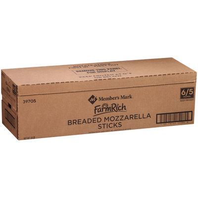 Member's Mark™ Farm Rich® Breaded Mozzarella Sticks 6-5 lb. Boxes