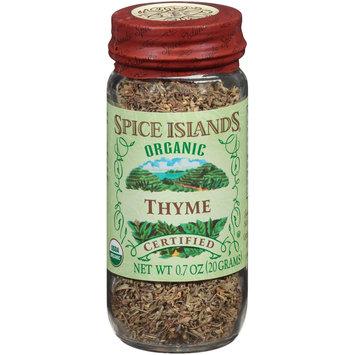 Spice Islands® Organic Thyme 0.7 oz. Jar