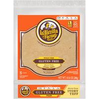 La Tortilla Factory® Wheat Free Gluten Free Ancient Grain Ivory Teff Wraps 10.16 oz. Bag