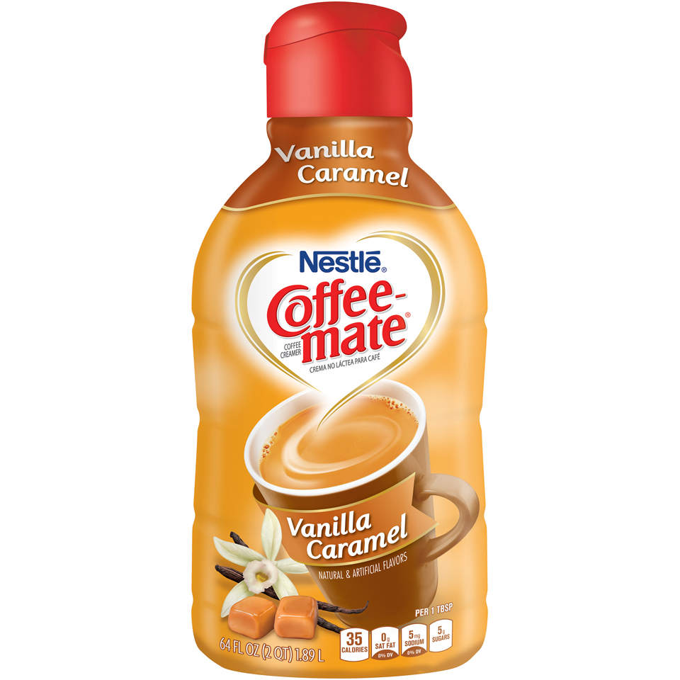 COFEE-MATE Vanilla Caramel Liquid Coffee Creamer 32 fl. oz. Bottle